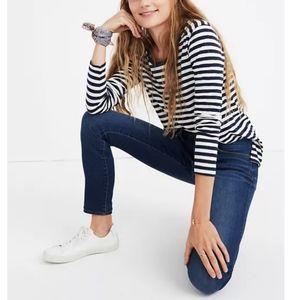MADEWELL Roadtripper Jeans Jansen Wash Dark Wash High Rise Skinny Jeans sz 31